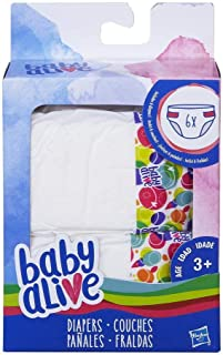 Baby Alive Hasbro Diapers Accessory Pack