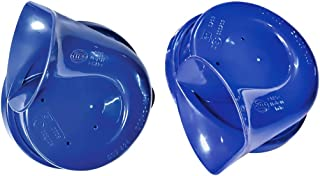 HELLA 012010801 Blue Trumpet Horn Kit, 12 V, 400/500 Hz (Universal Fit)