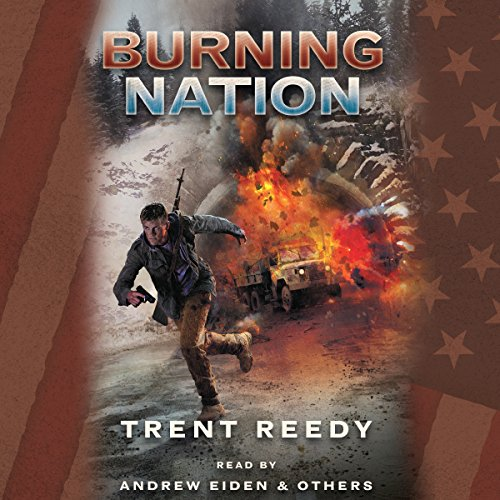 Burning Nation audiobook cover art