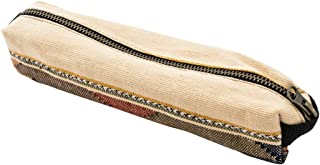 Native Comalapa Canvas Tool Pencil Case Pouch Handmade by Hide & Drink :: Sunset