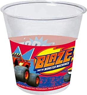 Blaze and the Monster Machine - 8 cups 20 cl Disposable for Party (Gabbiano 27682)