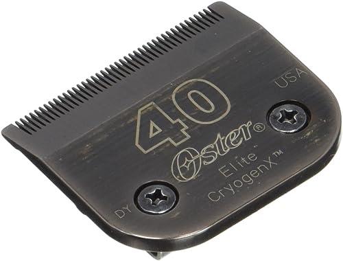 popular Oster Elite CryogenX Professional Pet online sale Clipper Blade, Size 40 outlet online sale (0-34264-41670-3) outlet online sale