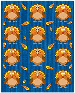 Carson Dellosa Turkeys Shape Stickers (168017)