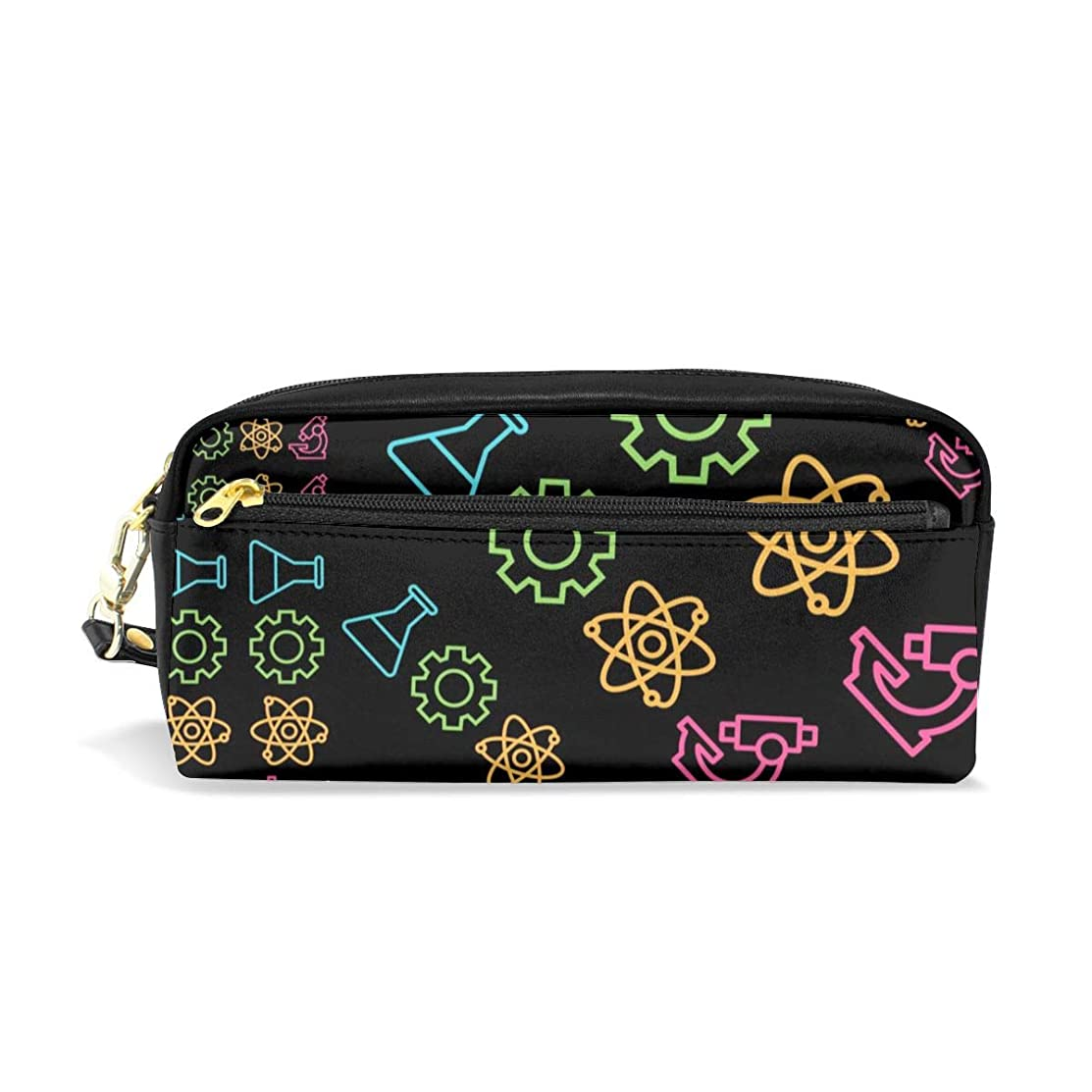 Multifunction Durable Cosmetic Bag Science Elements Pencil Bag Pouch Bag Case Makeup Bag