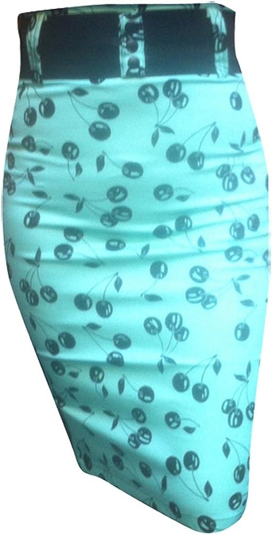 Switchblade Stiletto Waist Pencil Skirt