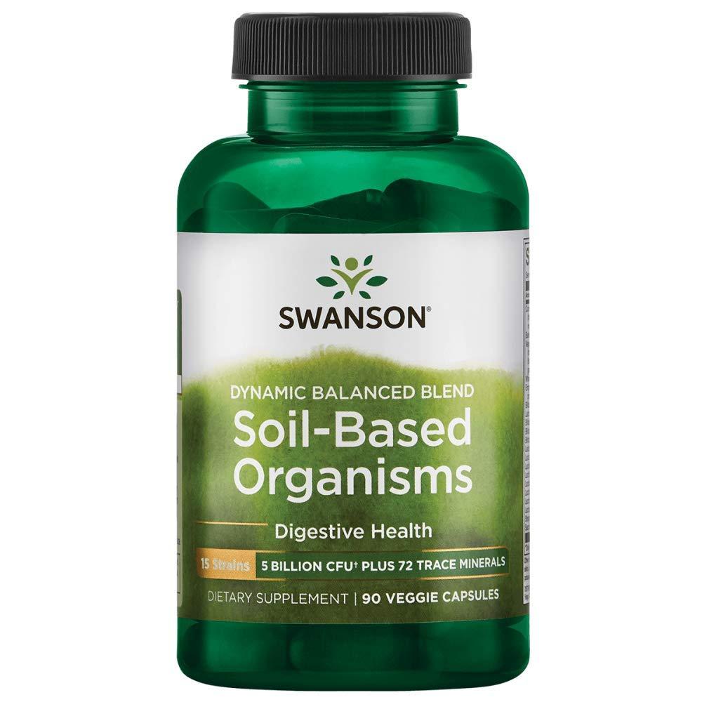 Swanson Soil Based Organisms Billion Caps