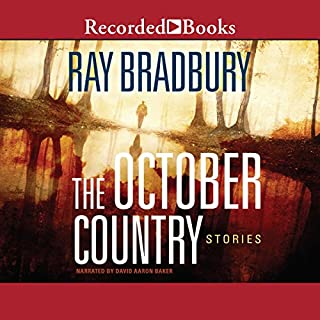 The October Country audiobook cover art