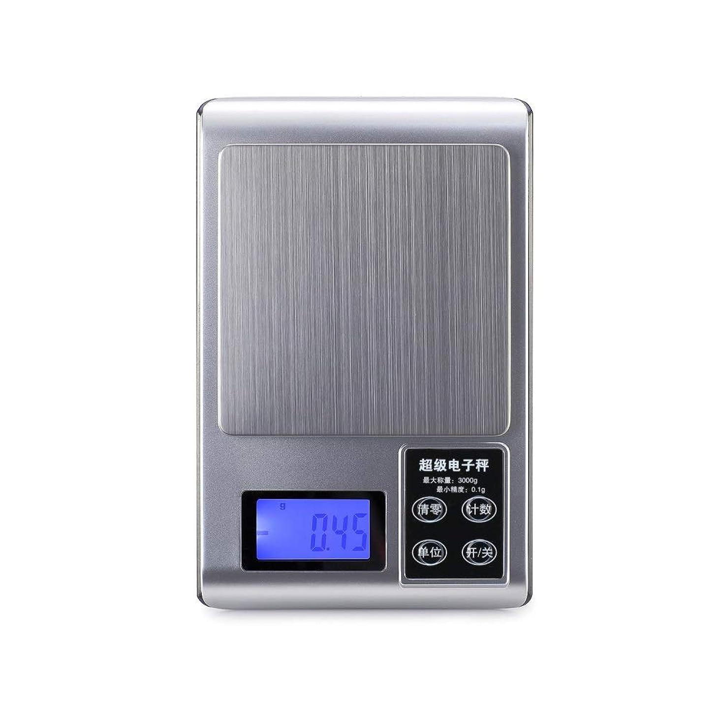 つば始める価値のないXF 体重計?体脂肪計 キッチンスケール - 0.01グラム家庭用小型キッチンベーキング食品計量高精度ミニジュエルスケール薬グラムスケール 測定器 (色 : C)