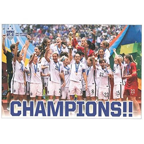 US Womens National Soccer Team Poster 2015