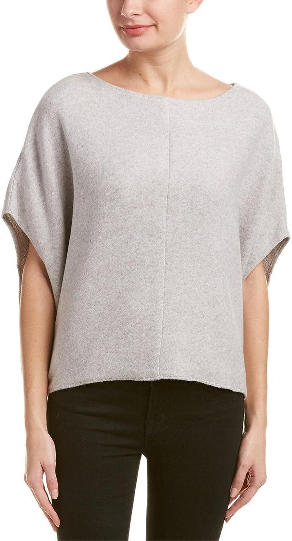 BB Dakota Heather Grey Ailee Knit Dolman Poncho Sweater
