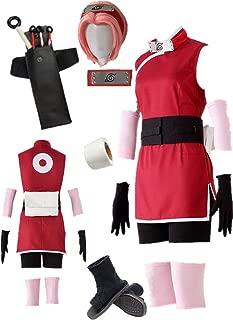 The Last - The Movie- Haruno Sakura Anime Cosplay Costume Halloween Full Suit
