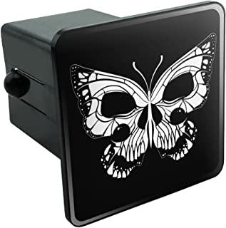 Roses Skull and Dagger Tow Trailer Hitch Cover Plug Insert 2