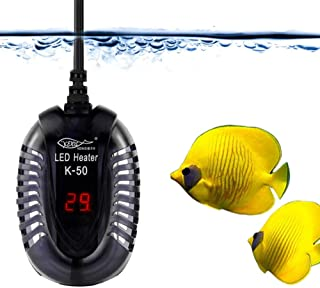 YCTECH Aquarium Fish Tank Submersible Heater (100Watt) with Intelligent LED Temperature Display for 10 to 20 Gallon Fish Tank