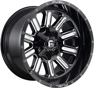 "D620 20x10 5x114.3/5x5-18 Gloss Black Milled Wheels(4) 20"" inch R"