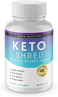 Keto Pills for Weight Loss, Extra Strength Formula- Dietary Supplement, 60 Capsules