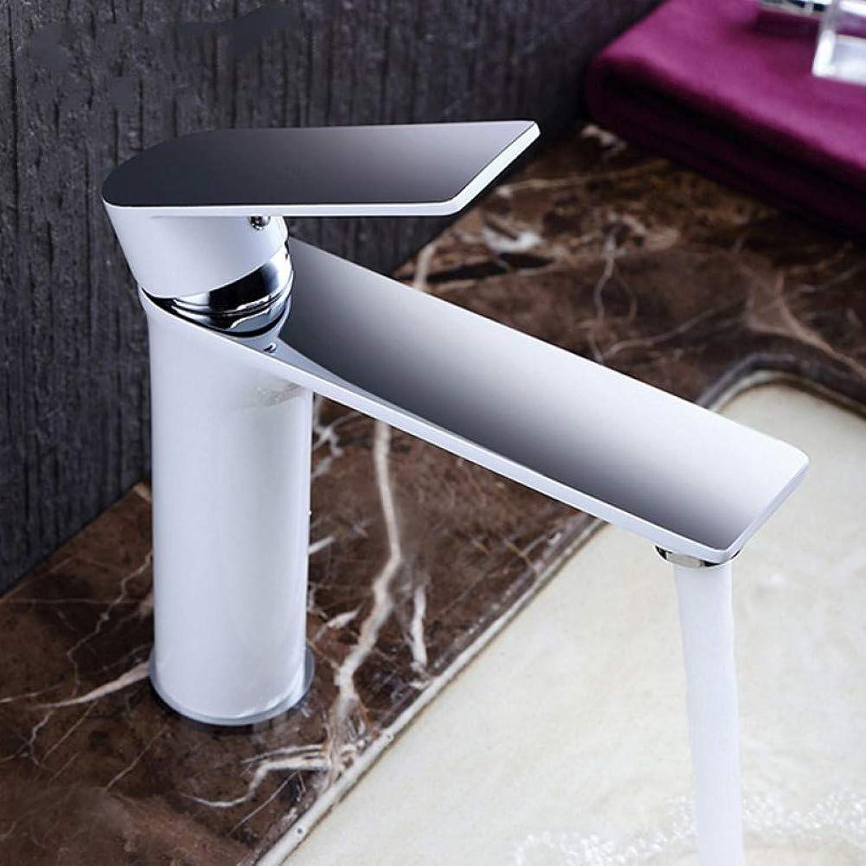 ZHFJGKR&ZL   Badezimmer Wasserhahn   Becken Wasserhhne wei Bad Wasserfall Wasserhhne Becken Spüle Wasserhahn Mischbatterien Deck montiert Mischbatterie Wasserhahn