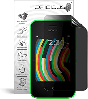 Celicious Privacy Plus 4-Way Anti-Spy Filter Screen Protector Film Compatible with Nokia Asha 230