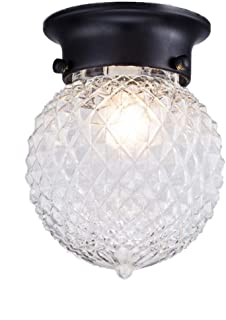 globe ceiling lights