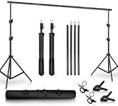 SH Background Stand, 6.5 x 10FT Heavy Duty Background Stand, 2x3M Backdrop Support System..