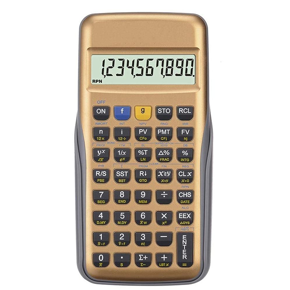 ロープ狂人作者電子式電卓 財務?金融計算機CFA/AFP/CFP試験 コンパクトポータブル