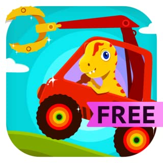 Dinosaur Digger - Monster Truck Simulator & Driving Games For Kids and Toddlers Free