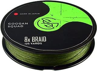 Catch Co. Googan Squad 8X Braided Line Green, 125yd