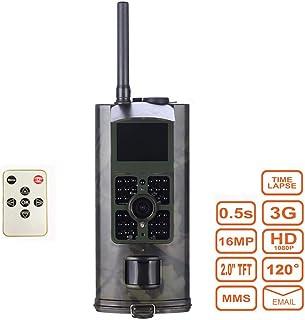 TLgf Cámara al Aire Libre de la Caza de 16 Millones de HD Sensor de Infrarrojos IP56 a Prueba de Agua Pantalla LCD de 2 Pulgadas Apto para monitorización de Parques Seguridad en el hogar