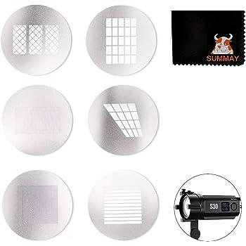 Godox SA-09 GOBO Kit para luz de Video LED de Enfoque Godox S30