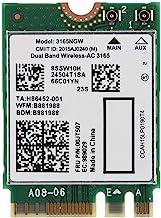 無線カード Mugast NGFF / M2ミニWi--Fiカード 150 Mbps 無線ネットワークカード AC 3165NGW NGFF / M2 433M + BT4.2 802.11ACカード 3165対応