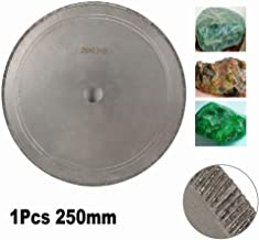 10 inch 250mm Super Thin Diamond Lapidary Saw Blade Cutting Disc for Gem, Crystal, Jade, Glass, Cutting and Processing