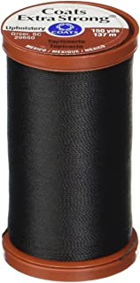 COATS & CLARK Extra Strong Upholstery Thread, 150-Yard, Black