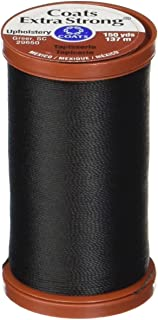 COATS & CLARK Extra Strong Upholstery Thread, 150-Yard, Black