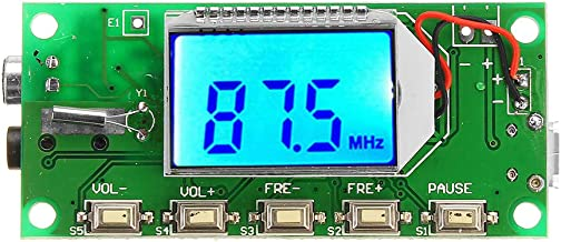 ILS - DSP PLL 87-108MHz Digital Wireless Microphone Stereo FM Transmitter Module Board
