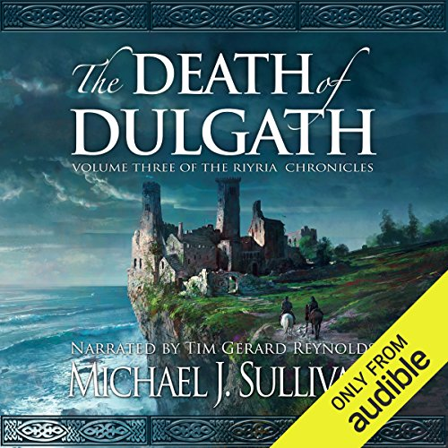 The Death of Dulgath audiobook cover art
