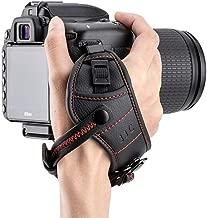 Camera Hand Grip Strap JJC DSLR Wrist Strap for Canon 7D 6D 5D 5Ds R 1Dx T7 T6 T5 T3 T7i T6s T6i T5i SL2 SL1 80D 77D Nikon D5 D4s D4 D850 D810 D3500 D3400 D7500 D7200 D5600 D5500,etc -Red