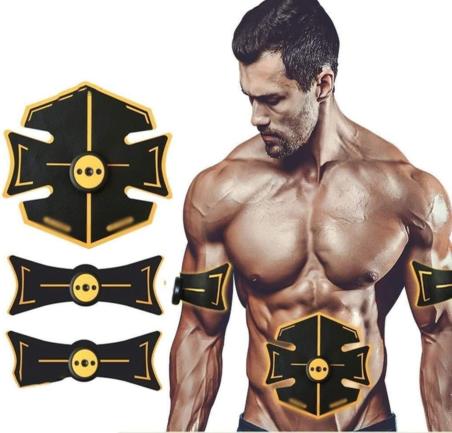 ADLIN Bauchmuskel Fitness Instrument intelligente Abdomen Faule Startseite USB-Ladebauch Bauch Bauch Muskeltraining Fitnessgeräte einfügen Massagegürtel