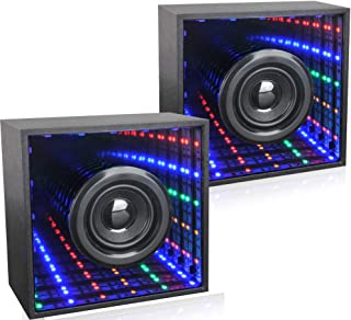 Computer Speaker,Bluetooth PC Speakers with Colors LED Light Dancing Function Dual Channel Stereo Device for Cell Phone,Computer and Laptop
