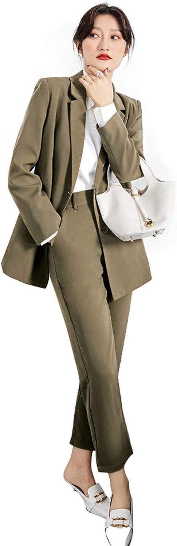 Women's Pants Suit for Business Formal Office Work Suits Set