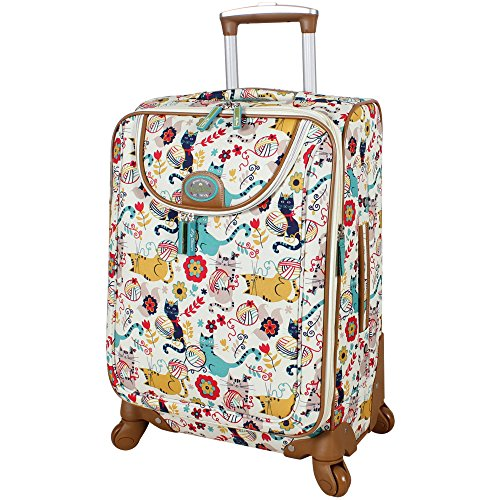 Lily Bloom 20' Exp Spinner Luggage (Furry Friends)