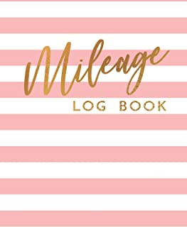 Mileage Log Book: Gas Mileage Tracker Book