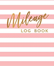 Mileage Log Book: Gas Mileage Tracker Book