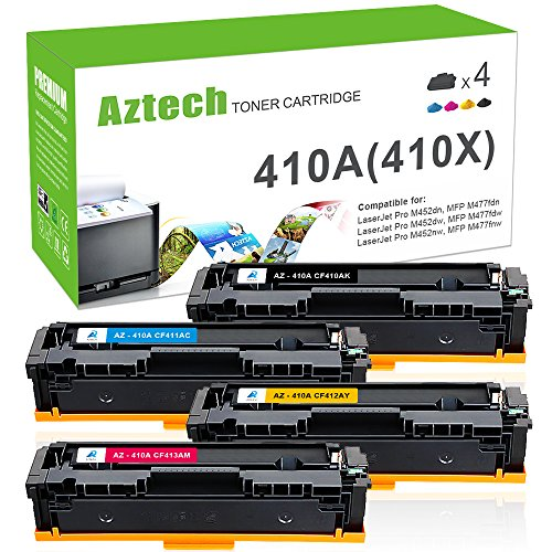 AZTECH 2 Pack 1,600 Page High Yield Black Compatible Toner Cartridge Replaces HP 131X CF210X For HP LaserJet Pro 200 Color M251n M251nw MFP M276n M276nw Canon imageClass MF8280Cw