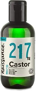 comprar comparacion Naissance Aceite de Ricino BIO 100ml - Puro, natural, certificado ecológico, prensado en frío, vegano, sin hexano, no OGM ...
