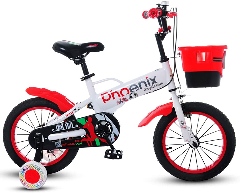 Xiaoping Kinderfahrrder 5-9 Jahre Alt Fahrrad Jungen Fahrrad 18 Zoll Kinder Mountainbike Wei Rot