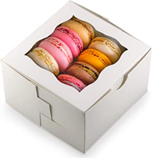 [50Pack] Bakery and Wedding Favor Boxes with Window 4