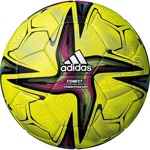 adidas(アディダス) サッカーボール コネクト21 コンペティション キッズ4号球 黄色 AF431Y