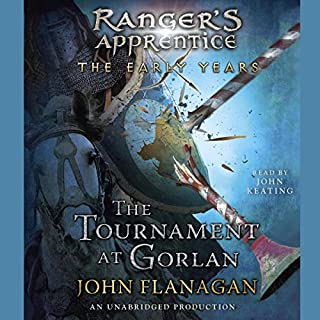 The Tournament at Gorlan audiobook cover art