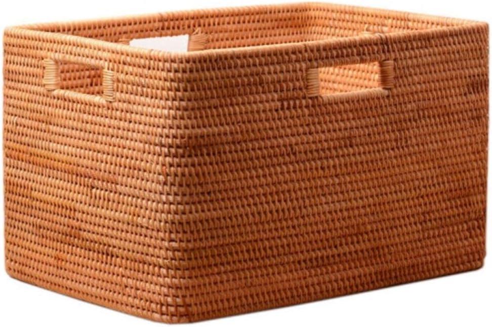 ZXY-NAN Rattan Living Room Portable Wholesale Box B Storage Long-awaited Basket