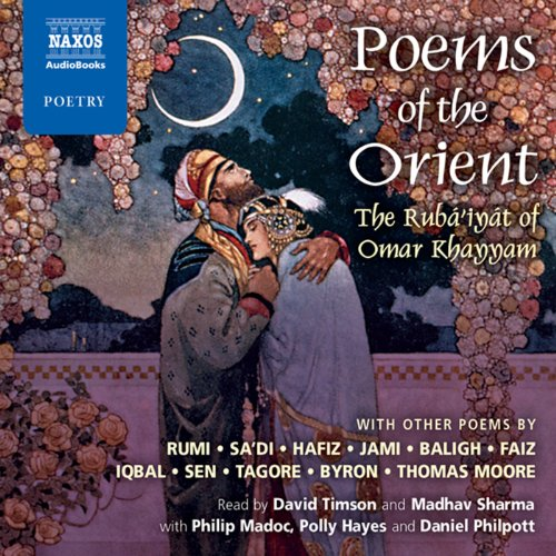 Poems of the Orient audiobook cover art