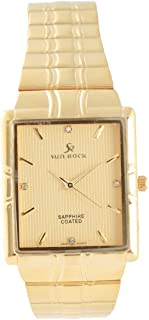 Analog Stainless Steel Watch For Men by Sun Rock, SRG076